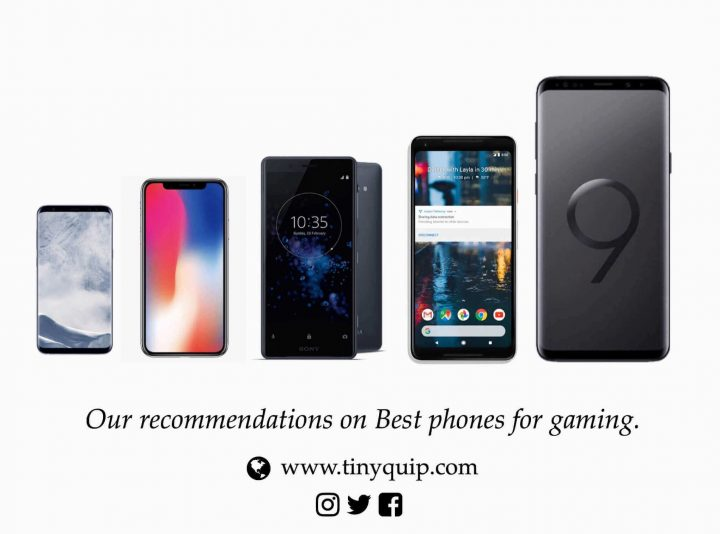 best phones for gaming tiny quip