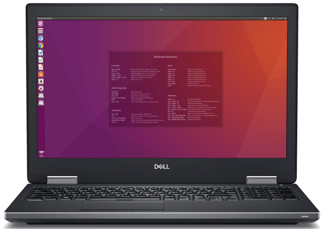 Dell Precision Laptops powered by Linux