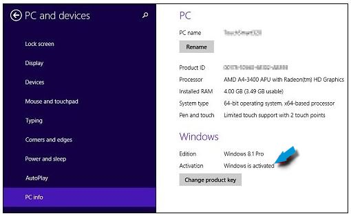 Windows 10 free upgrade -win8 activated