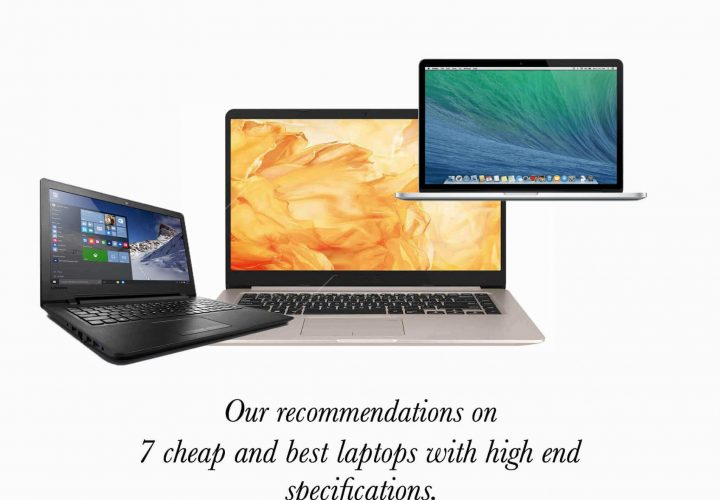 7 cheap and best laptops with high end specifications