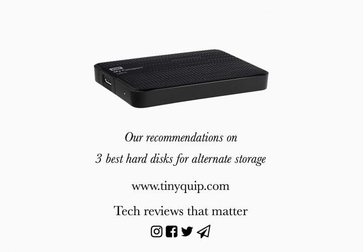 3 best hard disks for alternate storage