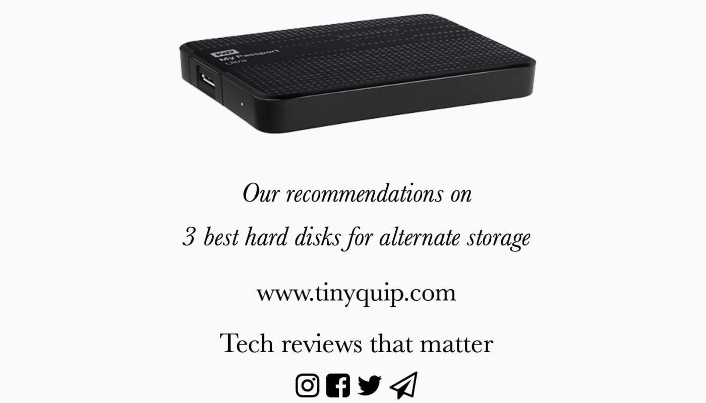Best Hard Disks For Alternate Storage