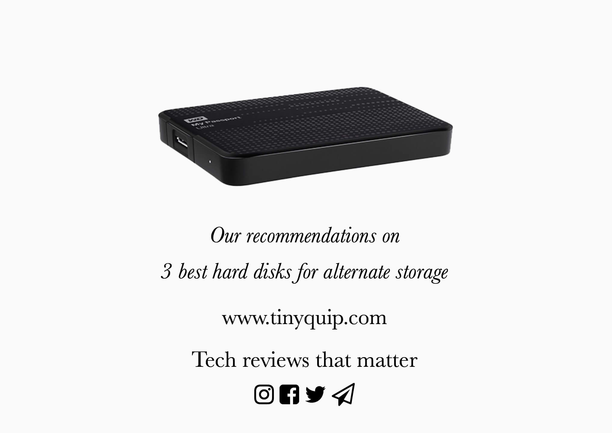 best hard disks