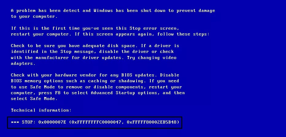 how to solve bsod