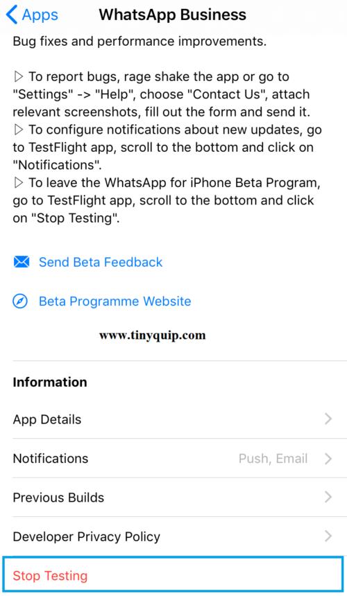 Install Beta Apps on your iOS device using TestFlight App