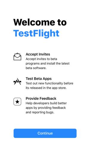 testflight beta apps list