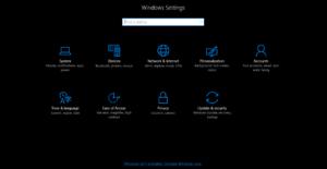 dark mode on windows 10