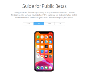 apple beta tester