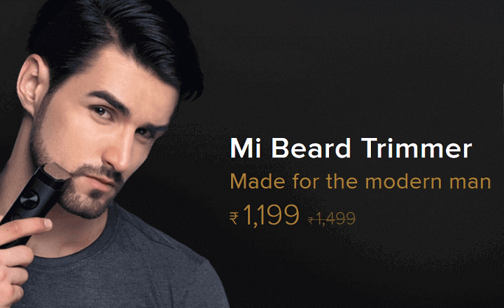 Mi Trimmer – A Beard Trimmer By Xiaomi Launched In India