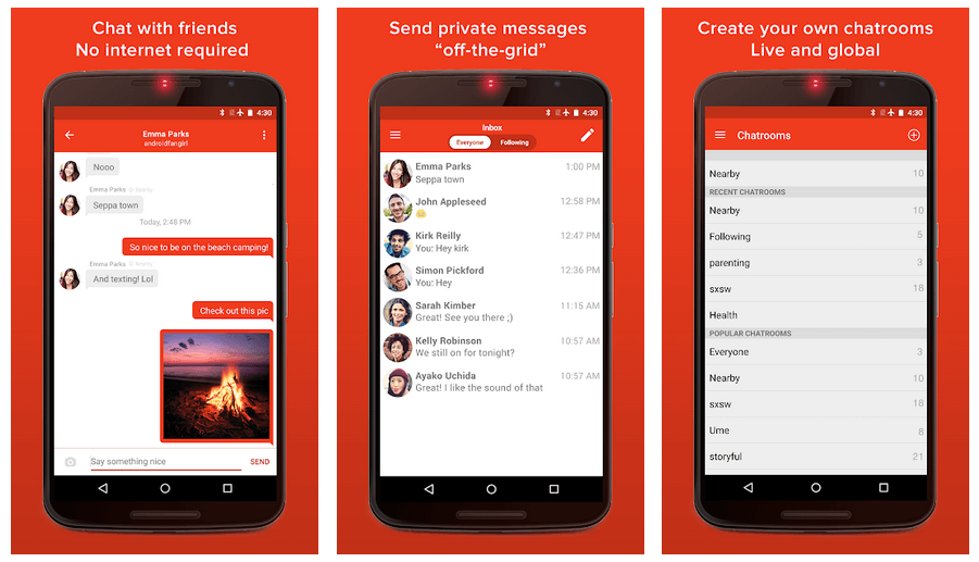 messaging apps android