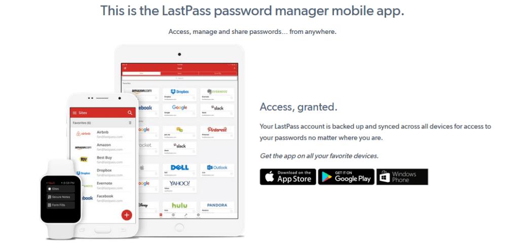 last pass best password manager
