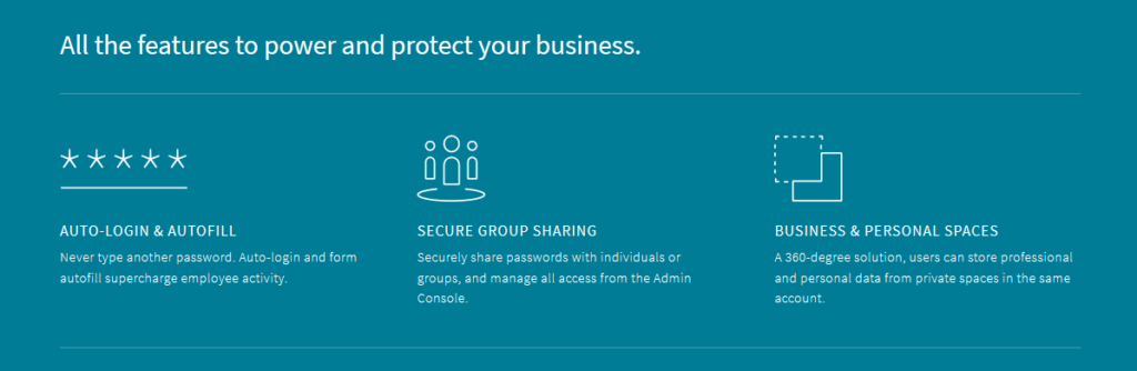 password manager for business