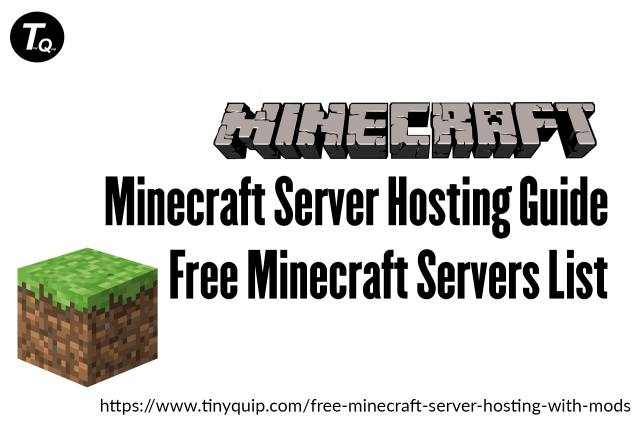 Updated Guide FREE Minecraft Server Hosting with Mods Tiny Quip